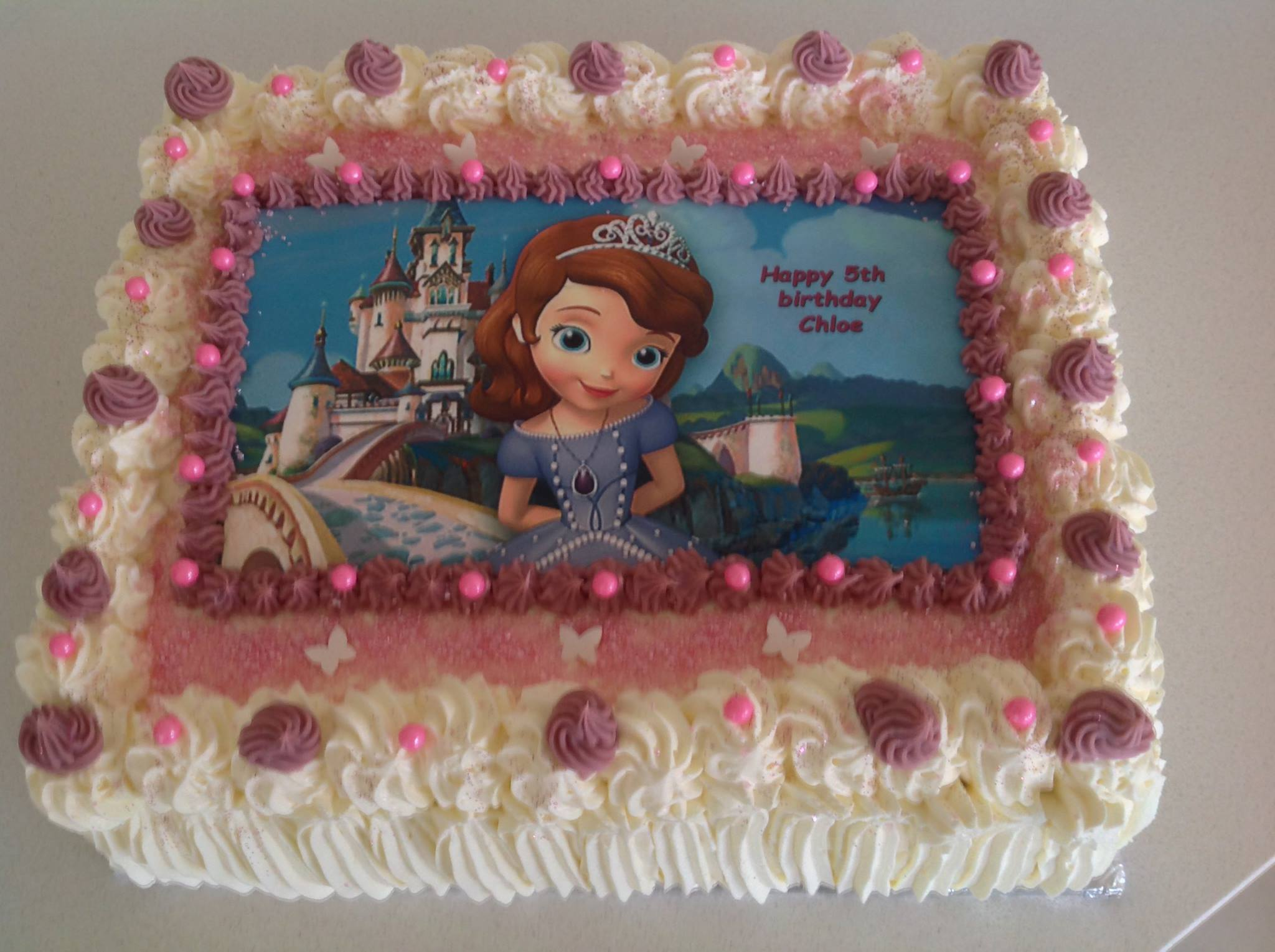 Another with Frozen  at French Haven Patisserie - Bakery at Craigieburn Highlands