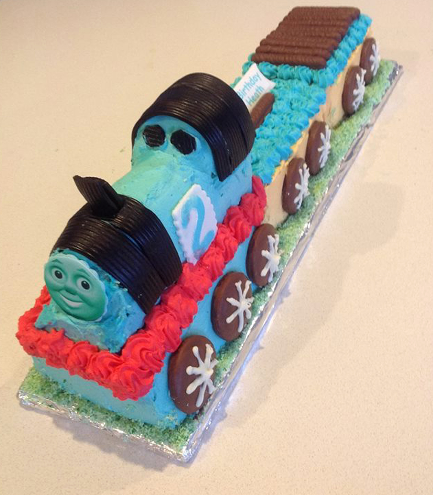 Thomas the train the Boys favorite at French Haven Patisserie - Bakery at Craigieburn Highlands